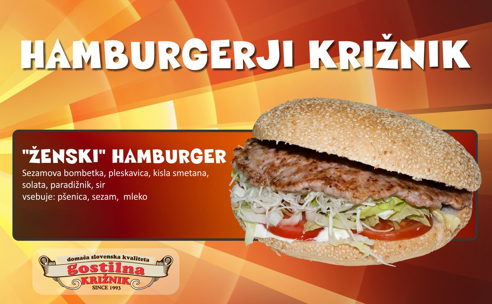 Ženski hamburger