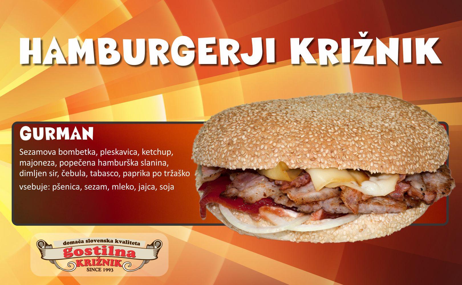 Gurman hamburger