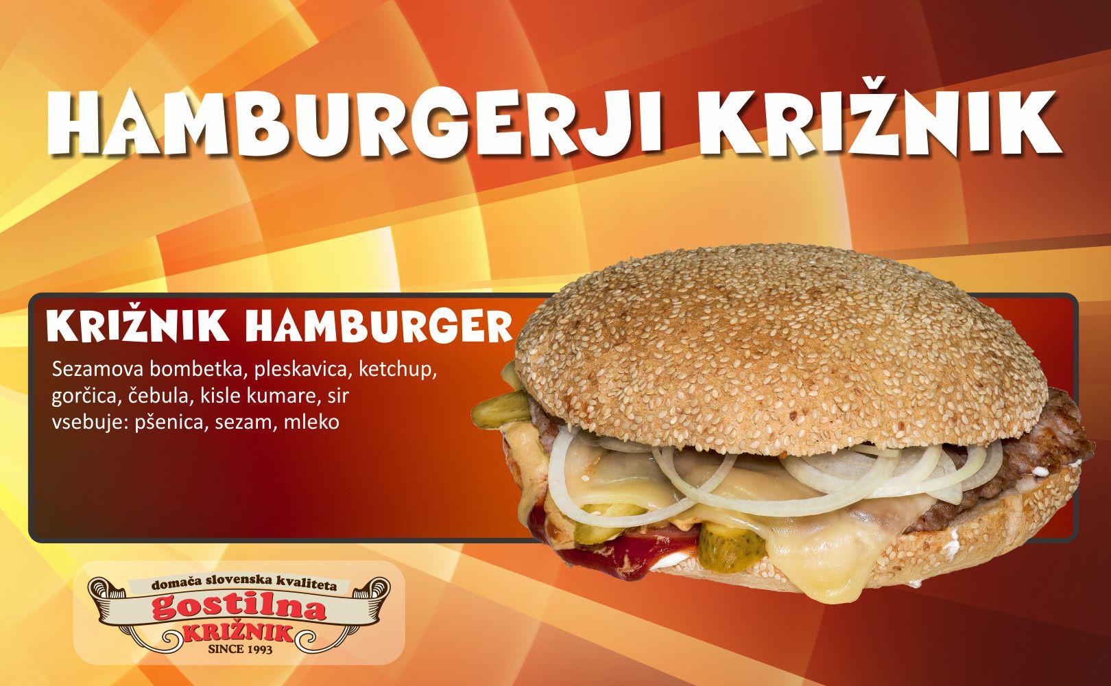 Križnik hamburger