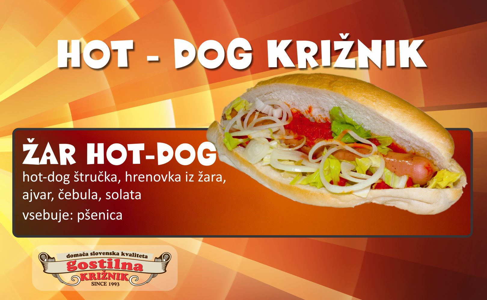 Žar hot-dog