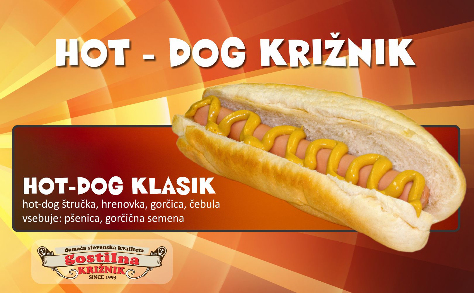 Klasik hot-dog